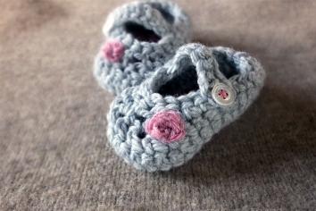 Handmade Baby slippers