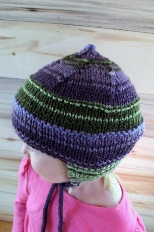 Adorable girl's hat, handmade by Anna Hughes