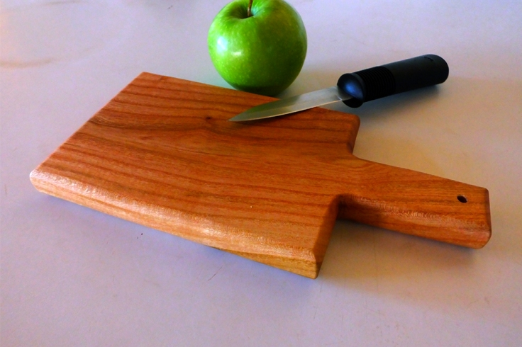Salt Cedar cutting board by Noah Hughes