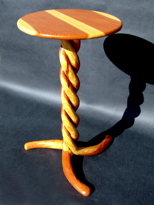 Spiral Table by Noah Hughes