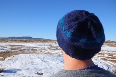 Custom made man's slouch hat