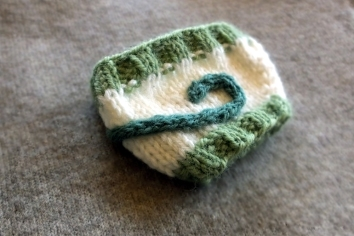 Green Leaf Coffee Cozy 2