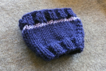Lavender Leaf Coffee Cozy 2