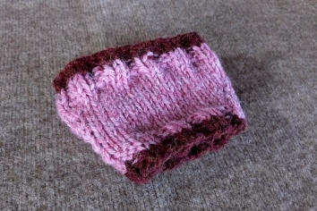 Summer Pink Coffee Cozy