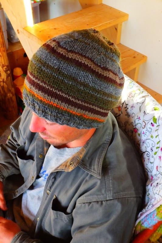 Custom made man's slouch hat