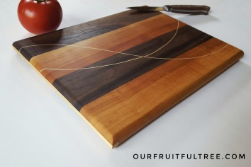 Red Plum and Black Walnut