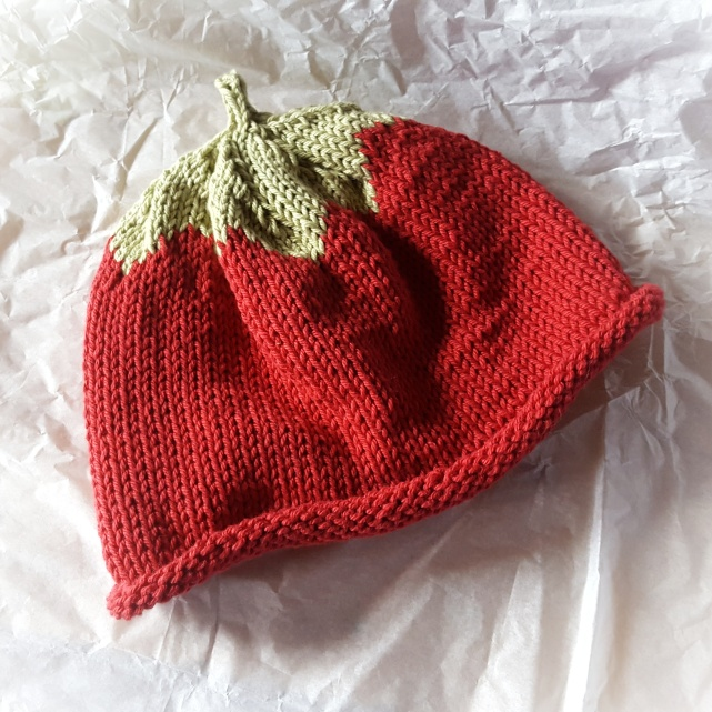 Cotton Strawberry Hat