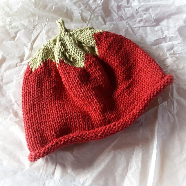 Cotton Strawberry Hat