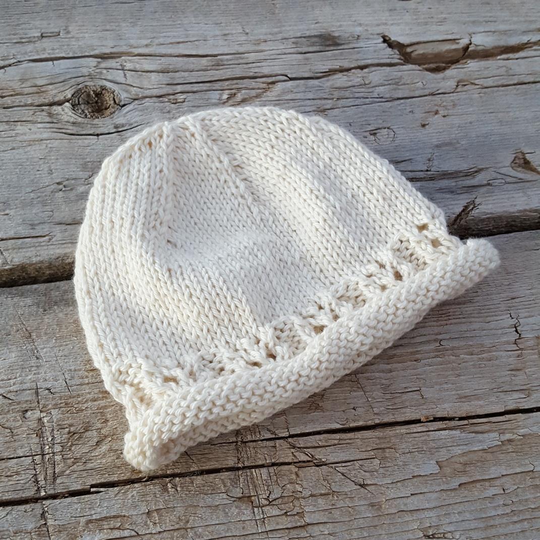 100% Organic Cotton Infant Hat